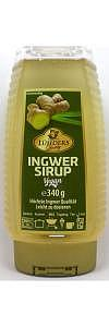 Ingwer Sirup in Squeeze Flasche