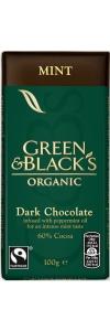 Schokolade MINT von Green & Black`s Bio