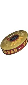 Geschenkdose Shortbread Oval Gold