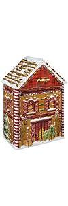 Geschenkdose Lebkuchenhaus