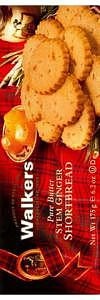 Walkers Kekse Ginger Shortbread